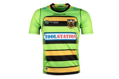 Macron Northampton Saints 2017/18 Alternativa Niños M/C Réplica - Camiseta de Rugby