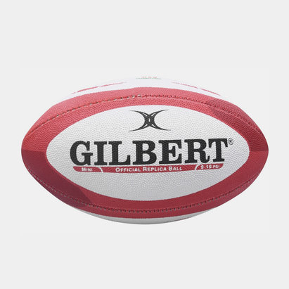 Gilbert Wales Replica Mini Rugby Ball