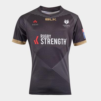 BLK Toronto Wolfpack 2020 Alternativa Camiseta de Liga