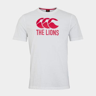Canterbury British and Irish Lions Logo T Shirt Mens