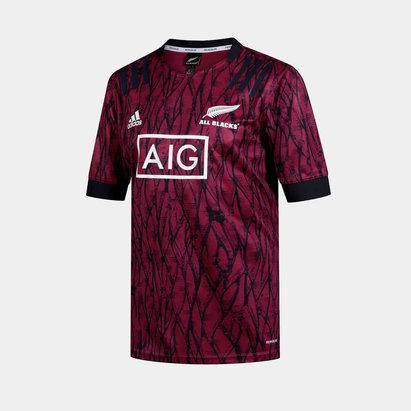 adidas New Zealand All Blacks Mens Training Shirt 2020