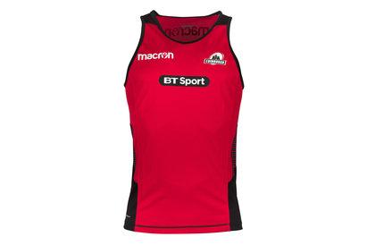 Macron Edimburgo 2017/18 Players Rugby Entrenamiento - Camiseta Gym
