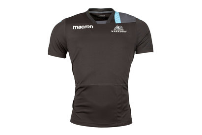 Macron Glasgow Warriors 2017/18 Players Rugby - Camiseta de Entrenamiento