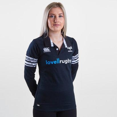 Canterbury Ospreys 2017/18 Mujer Home Clásica M/L - Camiseta de Rugby