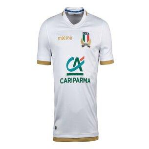 Macron Italia 2017/18 Alternativa M/C Réplica - Camiseta de Rugby
