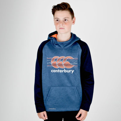 Canterbury Vaposhield Niños Polar - Sudadera con Capucha