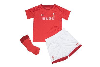 Under Armour Gales WRU 2017/19 Mini Niños Home Réplica - Equipación de Rugby