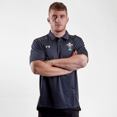 Under Armour Gales WRU 2017/19 Players Rugby - Polo
