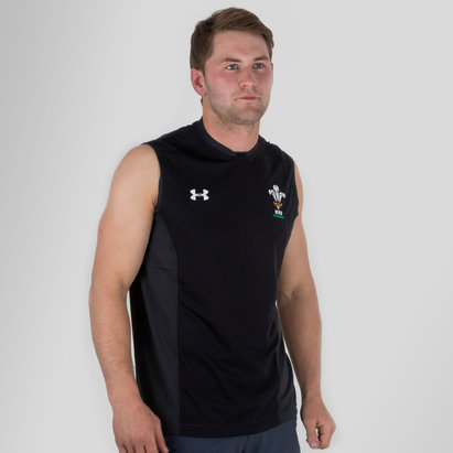 Under Armour Gales WRU 2017/19 Players Rugby - Camiseta de Tirantes Entrenamiento