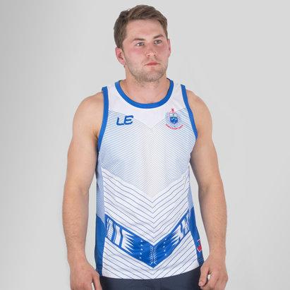 LE Sportswear Samoa 2017 Players Rugby - Camiseta de Tirantes Entrenamiento
