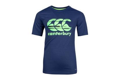 Canterbury Vapodri Poly Logo Niños - Camiseta de Entrenamiento