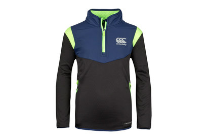 Canterbury Thermoreg Spacer Niños Polar 1/4 Zip Rugby - Top de Entrenamiento