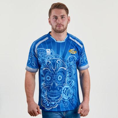 World Beach Rugby San Jose Serpents 2017/18 Alternativa M/C - Camiseta de Rugby