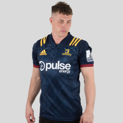 adidas Highlanders 2018 Home Super Rugby M/C - Camiseta