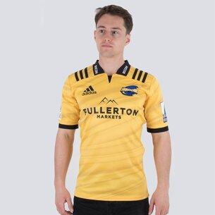adidas Hurricanes 2018 Home Super Rugby M/C - Camiseta de Rugby