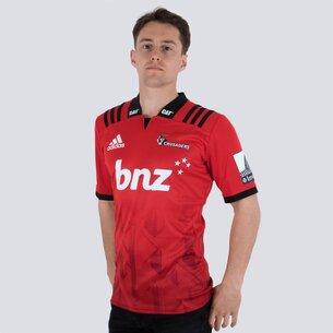 adidas Crusaders 2018 Home Super Rugby M/C - Camiseta de Rugby