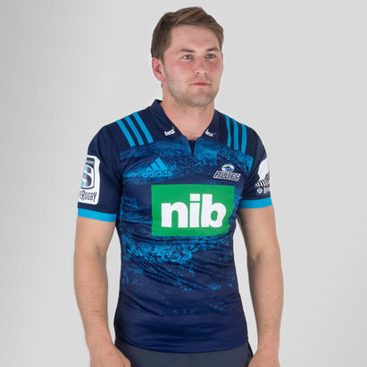 adidas Blues 2018 Alternativa Super Rugby M/C - Camiseta de Rugby
