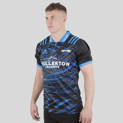adidas Hurricanes 2018 Super Rugby M/C - Camiseta de Entrenamiento