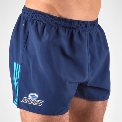 adidas Blues 2018 Home Super Rugby Players - Shorts de Rugby