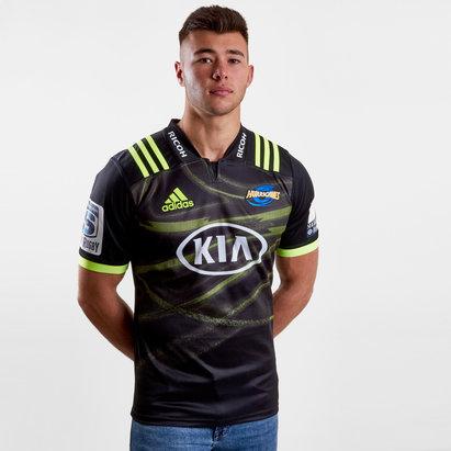 adidas Hurricanes 2018 Alternativa Super Rugby M/C - Camiseta de Rugby