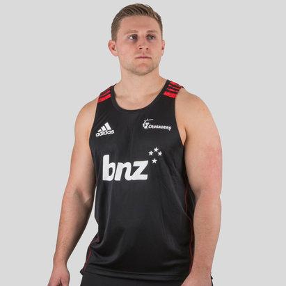adidas Crusaders 2018 Players Super Rugby - Camiseta de Entrenamiento