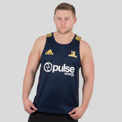 adidas Highlanders 2018 Players Super Rugby - Camiseta de Entrenamiento