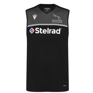 Macron Newcastle Falcons Poly Jersey Mens