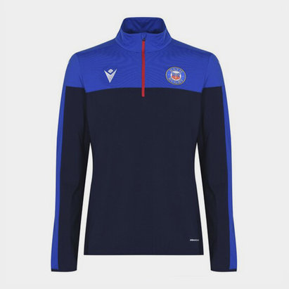 Macron Bath Training Zip Top Mens