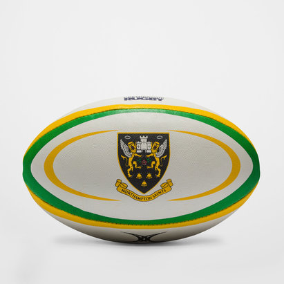 Gilbert Northampton Saints Réplica - Balón de Rugby