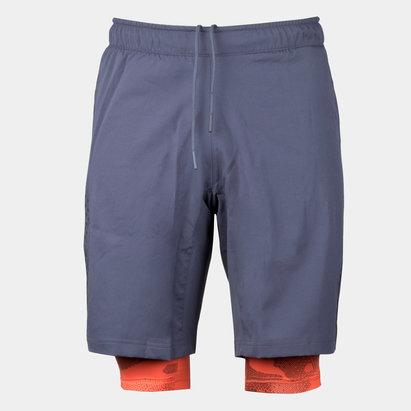 adidas CrazyTrain 2 en 1 - Shorts de Entrenamiento