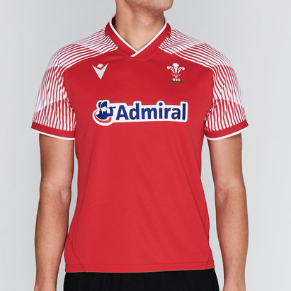 Macron Wales Pathway Home Rugby Shirt 2020 2021