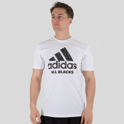 adidas Nueva Zelanda All Blacks 2018 Gráfica Rugby - Camiseta