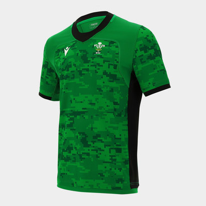 Macron Wales Training Top Mens