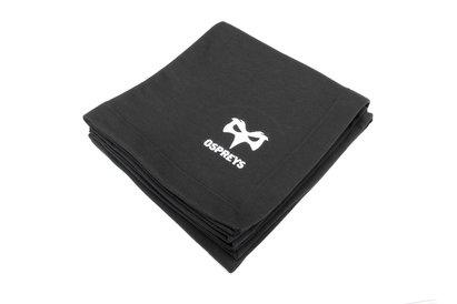 Ospreys Rugby - Manta bordada con insignia