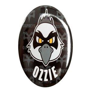 Ospreys Rugby - Insignia de botón gigante