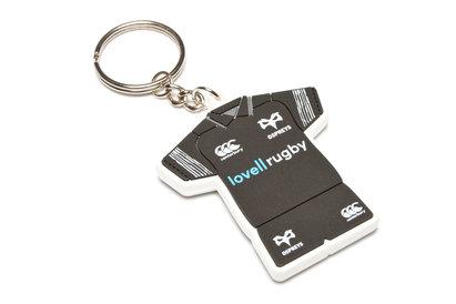 Ospreys Rugby PVC - Kit de llavero