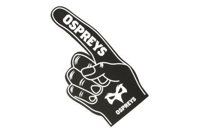 Ospreys Rugby Slimline - Mano de Espuma