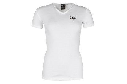 Ospreys Rugby Ava Mujer Cuello V - Camiseta