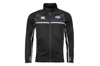 Canterbury Ospreys 2017/18 Full Zip Thermal Layer - Polar de Rugby