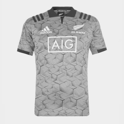 adidas Nueva Zelanda All Blacks 2018 Players - Camiseta de Entrenamiento