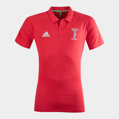 adidas Harlequins 2020/21 Players Polo Shirt