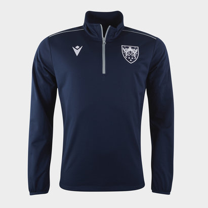 Macron Saints Zip Top Mens
