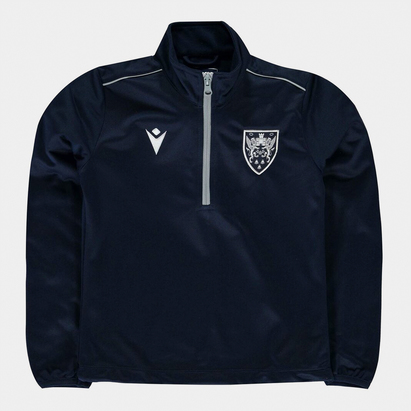 Macron Saints Zip Top Junior Boys
