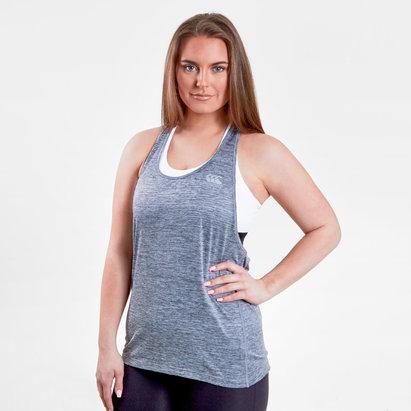 Canterbury Vapodri Mujer 2 en 1 - Camiseta de Tirantes Entrenamiento