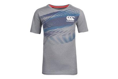 Canterbury Vapodri+ Niños Gráfica Poly - Camiseta