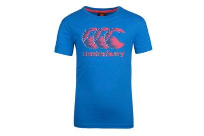 Canterbury CCC Gráfica Niños - Camiseta