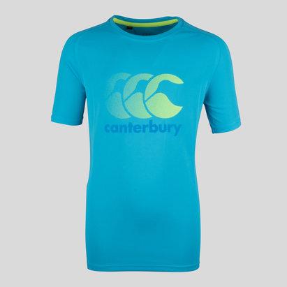 Canterbury Vapodri Niños Poly Logo - Camiseta