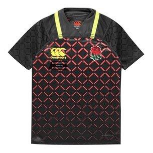 Canterbury Inglaterra 7s 2018/19 Niños Alternativa Pro M/C - Camiseta de Rugby