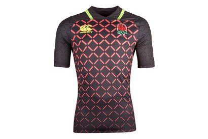 Canterbury Inglaterra 7s 2018/19 Jóvenes Alternativa Pro M/C - Camiseta de Rugby