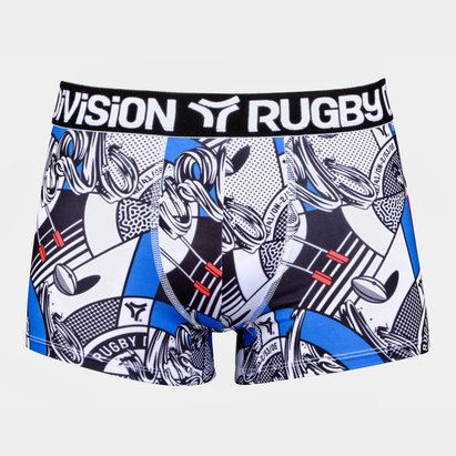 Rugby Division Bankster Gráficos - Shorts Bóxer